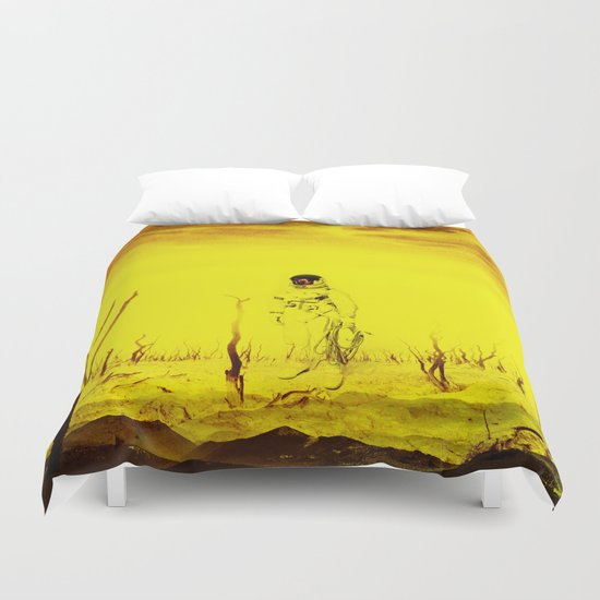 It is too late - Astronaut Duvet Cover