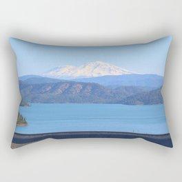 Mount Shasta and Shasta Lake Rectangular Pillow