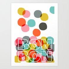 Bon Bon Art Print