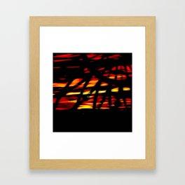 Golden Dream Framed Art Print