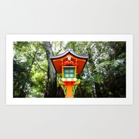 Inari Shrine Art Print