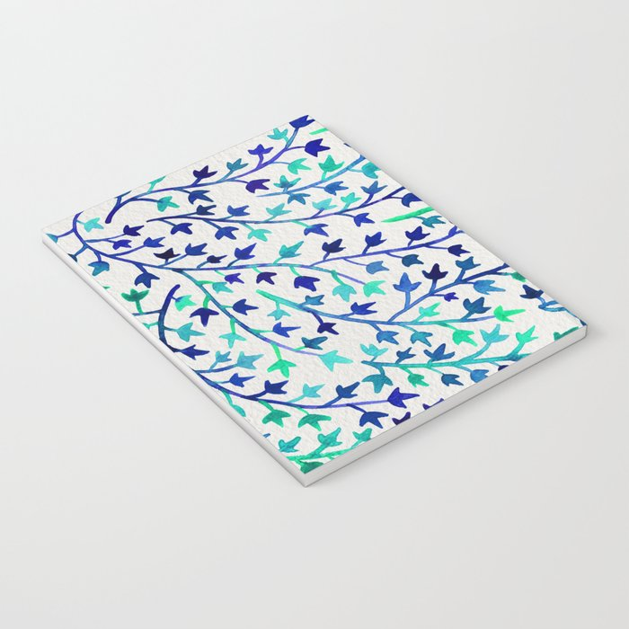Turquoise Ivy Notebook