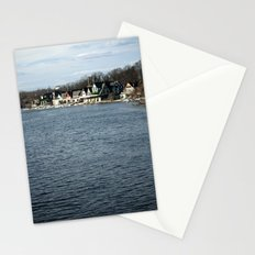 Boathouse Row Stationery Cards