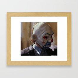 Bozo from The Dark Knight Framed Art Print