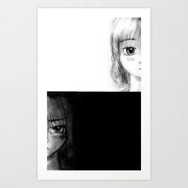 Split Art Print