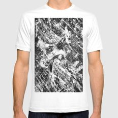 Chronophobia  MEDIUM White Mens Fitted Tee