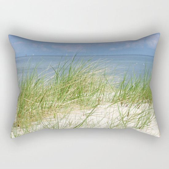 Dunes of the Baltic Sea Rectangular Pillow