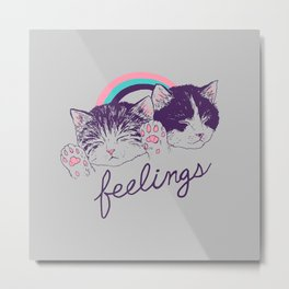 Feelings Metal Print