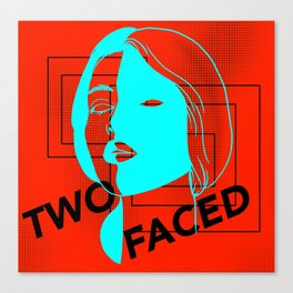 Two Faced Vision Canvas Print