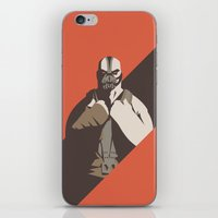 bane iPhone & iPod Skins featuring Bane by Florey