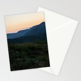 Grassy Mountaintops Stationery Cards