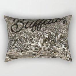 BUFFALO THEN Rectangular Pillow