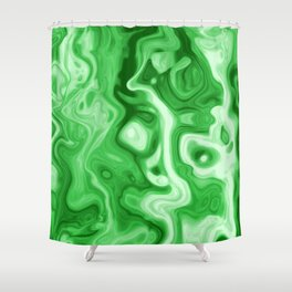 malachite natural rock abstract Shower Curtain