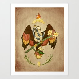 Brahminy Kite Art Print