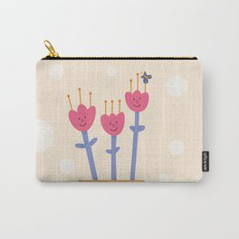 flowers in a pot Carry-All Pouch