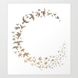 Starbirds Art Print