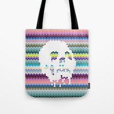 Color the Skull Tote Bag