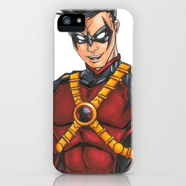 Red Robin (Tim Drake) iPhone Case