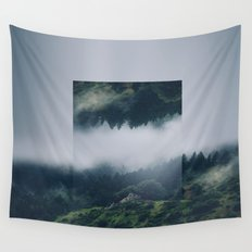 I get nervous.  Wall Tapestry