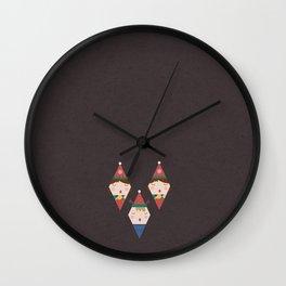 A Christmas Carol (Patterns Please) Wall Clock