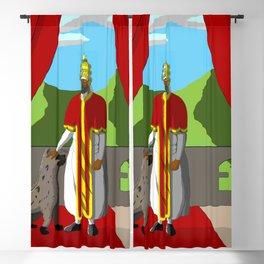 Menelik of Ethiopia Blackout Curtain