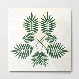 Palm pattern. Metal Print