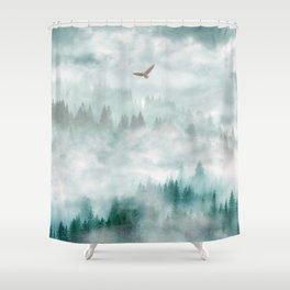Himalayan soaring Shower Curtain