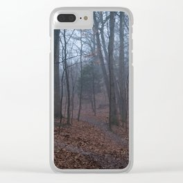 Mists in West Tyson Clear iPhone Case