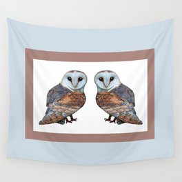 The Owl Collection - Barn Owl Wall Tapestry