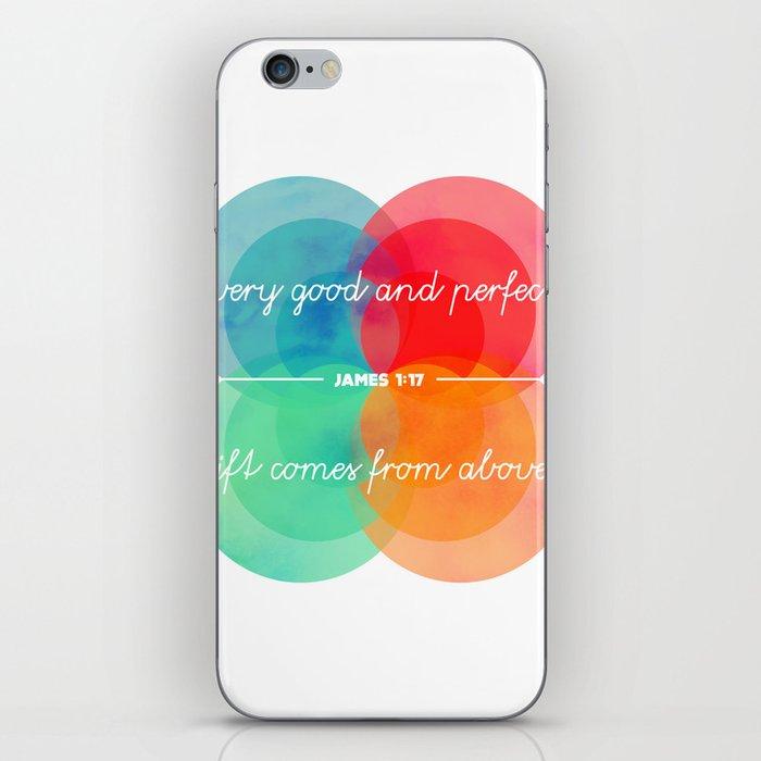 Good & Perfect (James 1:17) iPhone Skin