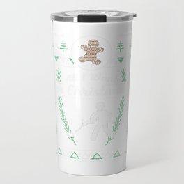 Metal Detect Christmas Ugly Shirt Travel Mug