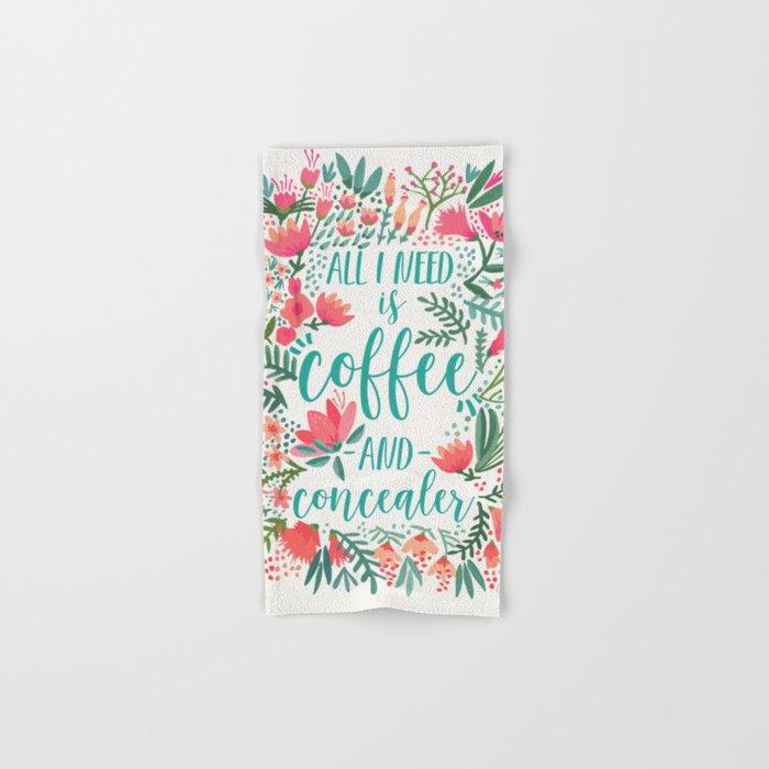 Coffee & Concealer – Juicy Palette Hand & Bath Towel