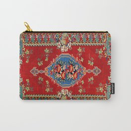 Bijar Silk Kilim  Antique Kurdish Persian Rug Print Carry-All Pouch