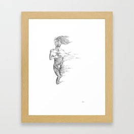 Insecurity: Unseen Framed Art Print