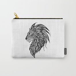 Lion Illustration Carry-All Pouch