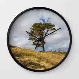 Highland Tree Wall Clock