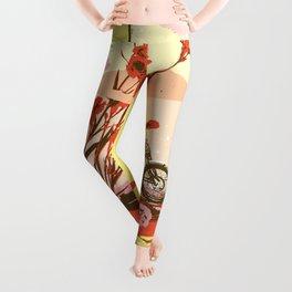 FLOWER JUG Leggings