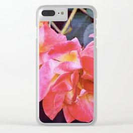 Rose 293 Clear iPhone Case