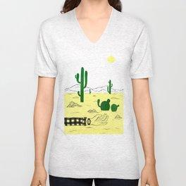 Man & Nature - The Desert Unisex V-Neck