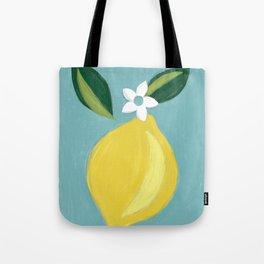 Meyer Lemon Tote Bag