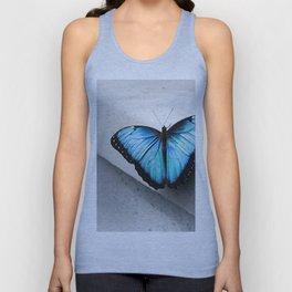 Aqua Butterfly Unisex Tank Top