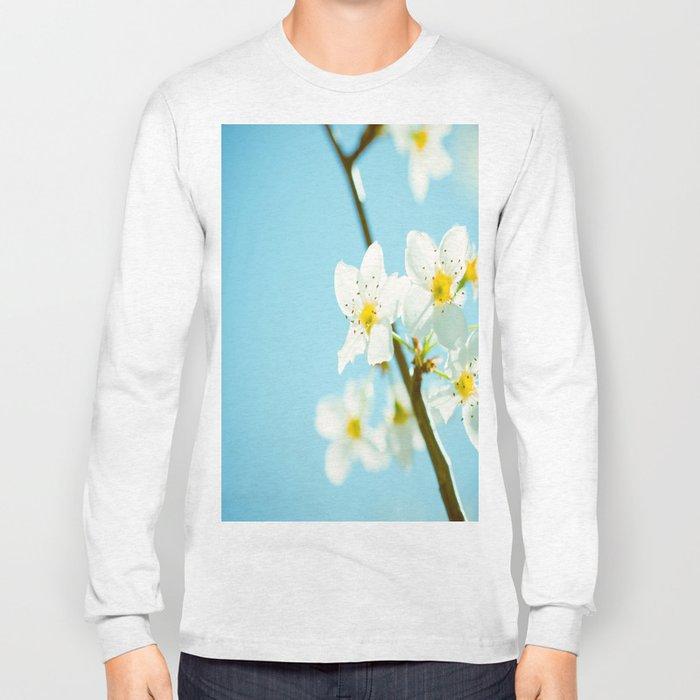 Blue & Blossoms Long Sleeve T-shirt
