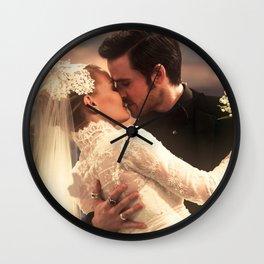 CAPTAIN SWAN WEDDING Wall Clock