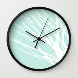 Aqua Blues Wall Clock