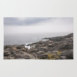 up the southern shore Rug