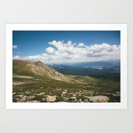 Mt. Massive Wilderness Art Print