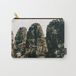 TRANSCENDENCE // The Bayon, Siem Reap, Cambodia Carry-All Pouch