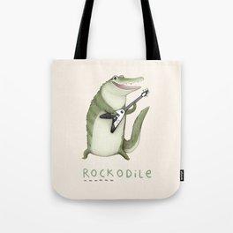 Rockodile Tote Bag