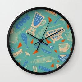 Homemade mood Wall Clock