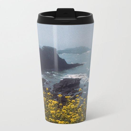 Yaquina Head Metal Travel Mug